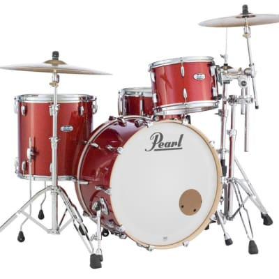 Pearl Masters Maple Complete 3-pc. Shell Pack MCT943XP/C346 VERMILION SPARKLE