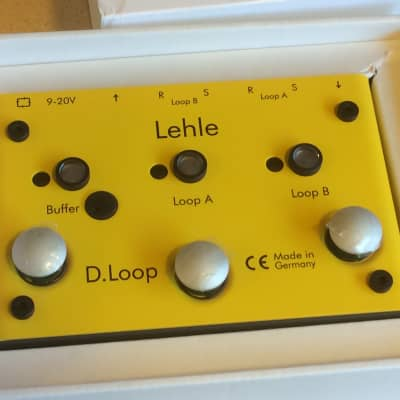 Lehle D.Loop SGoS 2-Channel Guitar Effects Loop True-Bypass Buffered Switcher Pedal - pro quality!