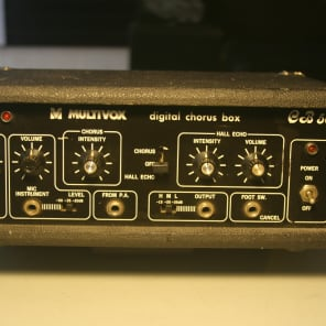 Multivox CB50 Digital Chorus Box (Delay/Chorus) for sale