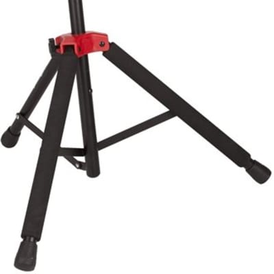 Fender Deluxe Hanging Guitar Stand, Black/Red for sale
