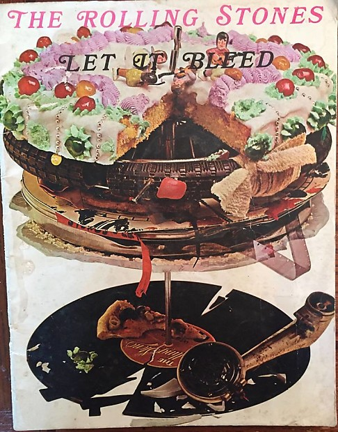 Rare Rolling Stones Let It Bleed Rare 36 page sheet music book 1972