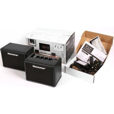 Blackstar FLY Stereo Pack - Battery Powered Mini Guitar Amp, Portable Speakers & Power Supply