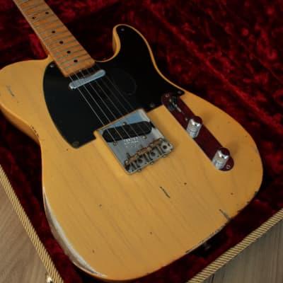 Fender Fender Custom Shop Telecaster 53 Heavy Relic butterscotch blonde 2014 butterscotch blonde for sale