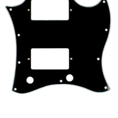 SG Standard Scratch Plate Black 3 Ply Free 2 Day Shipping