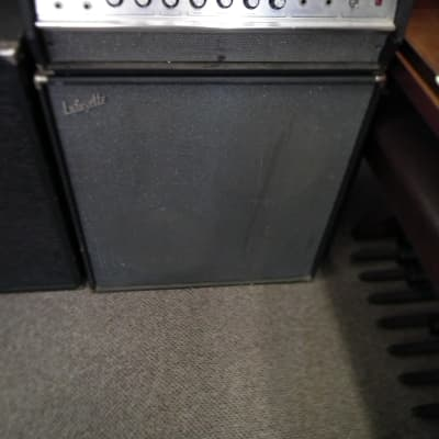1970's Lafayette  Piggy Back 100 wtt Solid State  Guitar Amp & Bottom for sale