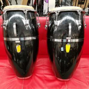 "Latin Percussion LP559X-1BK Carlos ""Patato"" Valdez Signature 11.75"" Fiberglass Conga"