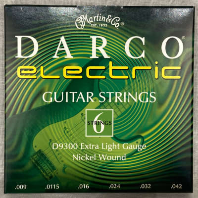 Martin D9300 Darco Electric Guitar Strings - Extra Light (9-42)