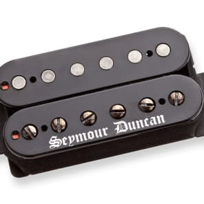 Seymour Duncan Black Winter Trembucker Bridge Black Cover