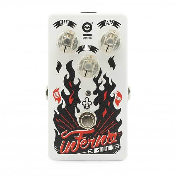Dophix Effects - Inferno Hell Distortion - Pedal FREE SHIPPING!! image