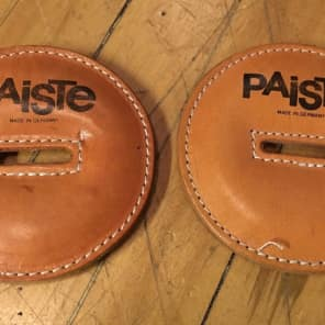 Pasite AC59001 Leather Cymbal Pads - Small (Pair)