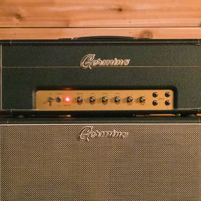 Germino Lead 55 (JTM45 mod) & 2x12 Cab for sale