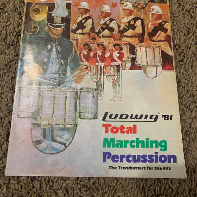 Ludwig '81 Total Marching Percussion Catalog