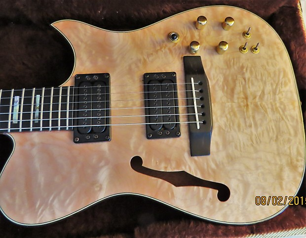 Carvin ae gorgeous quilted maple natural reverb