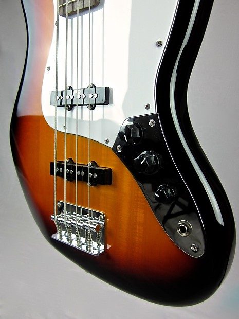aria stb jb electric bass guitar 4 string vintage sunburst reverb. Black Bedroom Furniture Sets. Home Design Ideas