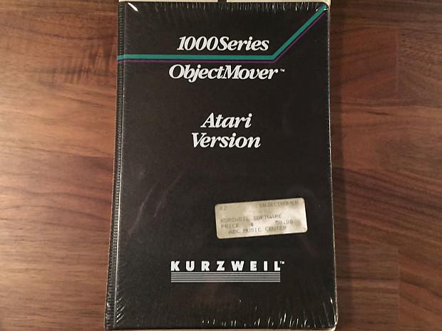 Kurzweil 1000 Series ObjectMover - Atari Version (New Factory Sealed)