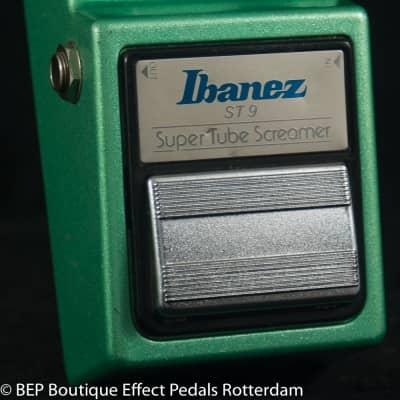 Ibanez ST-9 Super Tube Screamer 1983 Japan two JRC4558D op amps s/n 390663