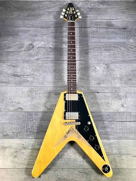 Gibson Flying V 1982 Korina