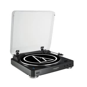Audio-Technica AT-LP60BK-BT Bluetooth Turntable