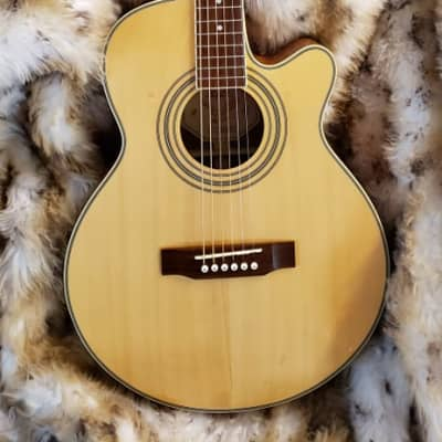 S101 Standard American Sejung DAD046A4 Acoustic Electric Guitar for sale