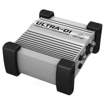 Behringer ULTRA-DI DI100 Battery/Phantom Powered DI Box