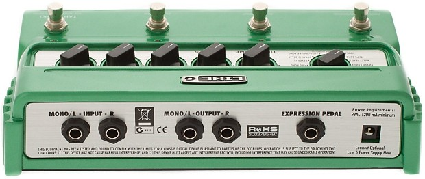 line 6 dl4 delay modeler w px2 power supply reverb. Black Bedroom Furniture Sets. Home Design Ideas