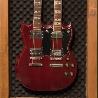 Arbiter SG 6/12 double neck MIJ Red for sale