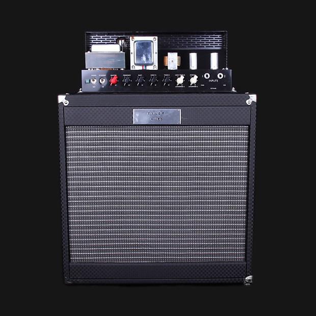 Tyler Amps Flip Top Bass Combo Reissue Ampeg Checker Tolex B15 amp with  horn Super Tough Rig !