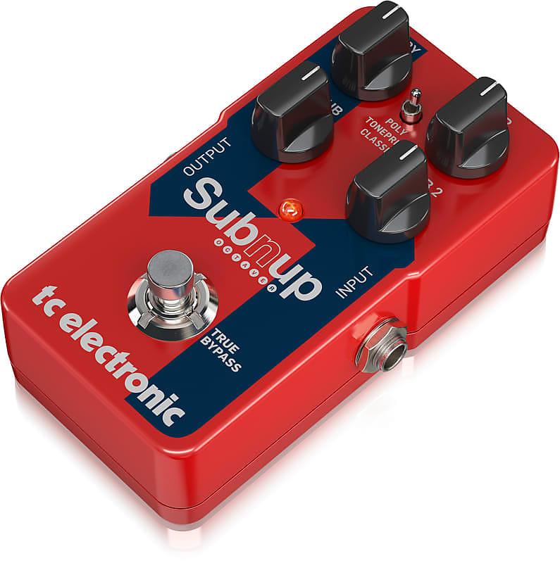 tc electronic sub n up octaver polyphonic octave pedal reverb. Black Bedroom Furniture Sets. Home Design Ideas