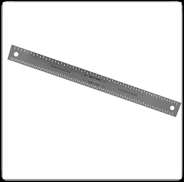 string spacing ruler steel for guitar setups luthier reverb. Black Bedroom Furniture Sets. Home Design Ideas