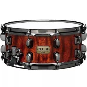 "Tama LGB146NQB 6x14"" S.L.P. Series G-Bubinga Snare Drum"