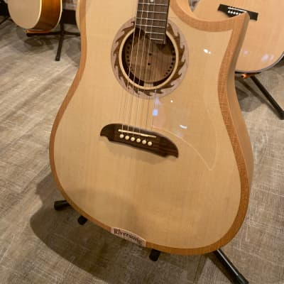 Riversong Tradition Cherry Back and Sides Engalmann Spruce Top for sale
