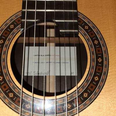 Martin Blackwell Double Top Classical Guitar 2009 for sale