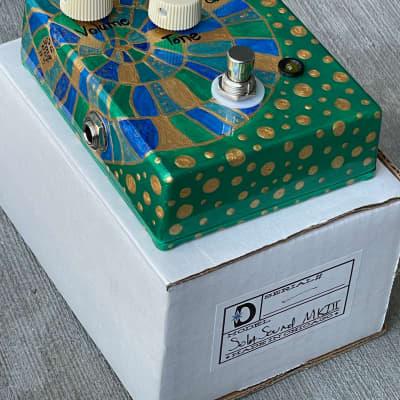 Daredevil x Sarah Gallenberger Sola Sound MKIII Tone Bender Replica Hand Painted Germanium Fuzz for sale