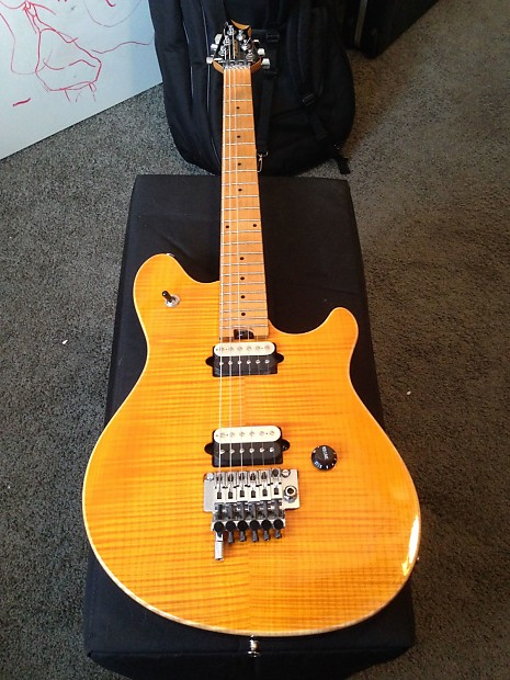 Peavey Wolfgang Special Deluxe USA Orange/Amber | V as in