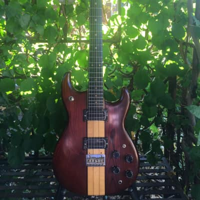 C.G.Winner ST 570 Stratocaster Style 1978 Redbrown Satinfinish for sale