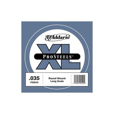 D'Addario Pro Steels Wound Single Bass String PSB035