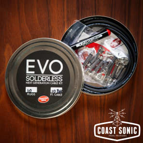 Disaster Area Designs EVO Solderless Cable Kit 10 plugs