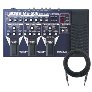 Boss ME-50B Bass Multiple Effects CABLE KIT for sale