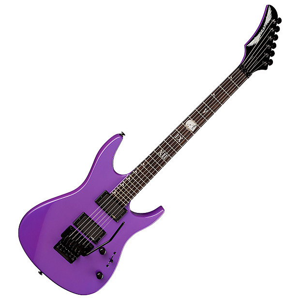 Dean Jacky Vincent C450F Purple Electric Guitar | GearTree ...