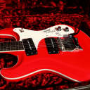 """Mosrite The Ventures 1963 """"Red"""" Possible prototype SN 0000 image"""