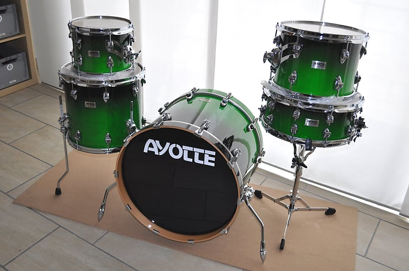 ayotte custom drum kit reverb. Black Bedroom Furniture Sets. Home Design Ideas