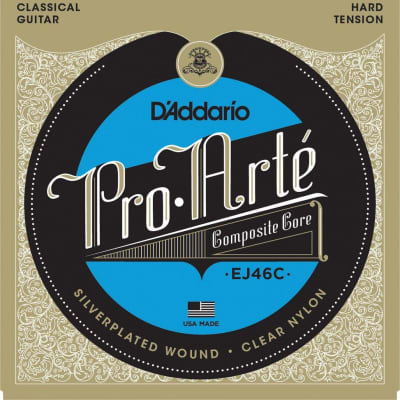 D'Addario EJ46C Hard Tension Nylon Strings