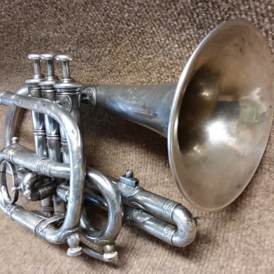 Tourville Artist Series Shepherds Crook Vintage c.1908 Professional Cornet In Excellent Condition