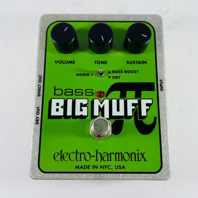 Electro-Harmonix Bass Big Muff Pi Fuzz Pedal *Sustainably Shipped*