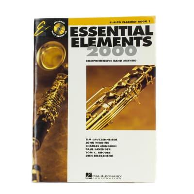 Essential Elements - EB Alto Clarinet - Book 1
