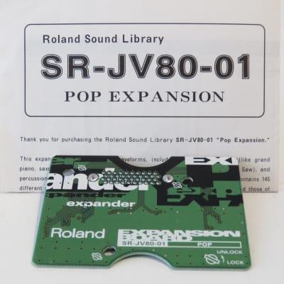 Roland SR-JV80-01 Pop Expansion Card /Board for XP/JV Synths