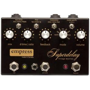 Empress Vintage Modified Superdelay Pedal