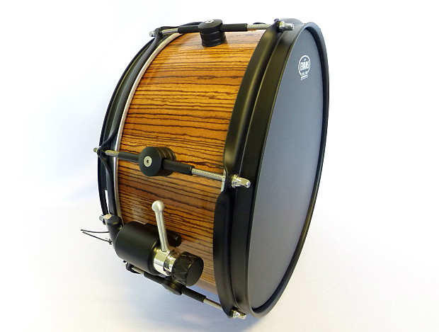 new custom zebrawood stave snare drum huge price drop reverb. Black Bedroom Furniture Sets. Home Design Ideas