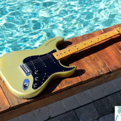 Fender  25th Anniversary Stratocaster Porsche Silver for sale