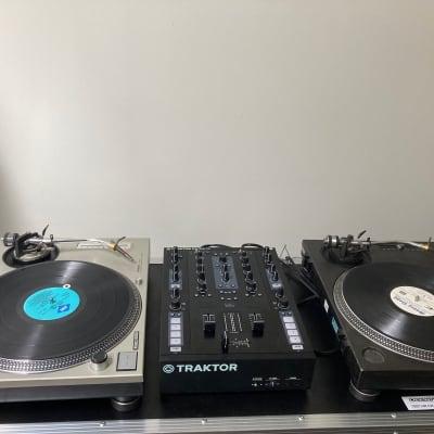 Full Dj Setup Pair (2 x) Technics SL-1200 MK2 + Traktor Z2 mixer + Rare Ortofon Needles and More